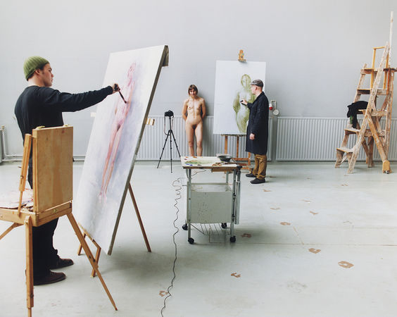 Artists at Work 4. 2009. © Elina Brotherus