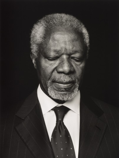 Kofi Annan by Anoush Abrar © Anoush Abrar