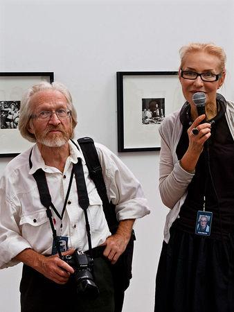 Николай Бахарев и Ольга Свиблова. Фото: Нина Власова