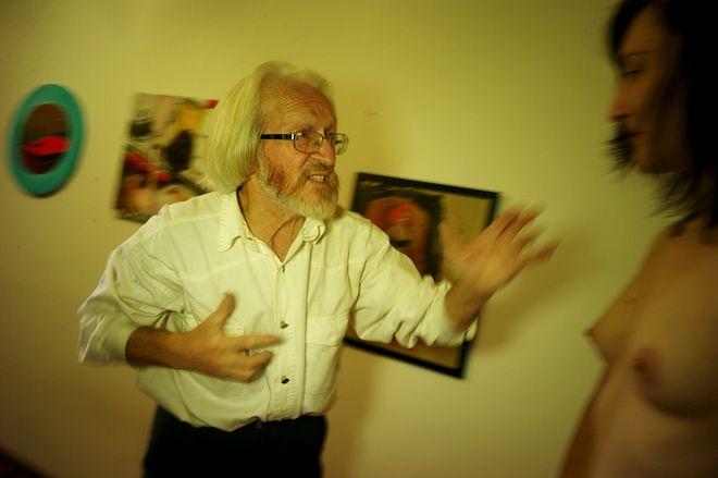 Мастер-класс Николая Бахарева для студентов школы имени Родченко (мастерская И. Мухина)  © Игорь Мухин