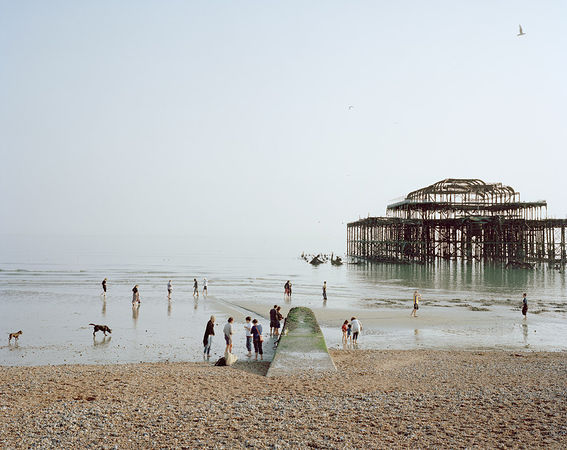 Brighton West Pier, East Sussex, 2011 © Simon Roberts