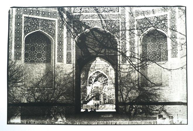 Из серии «Бухарские сны», 2013 г., фотография, лит-печать