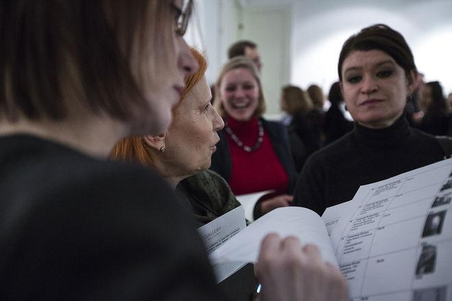 Вернисаж. Фото: Ксения Юркова