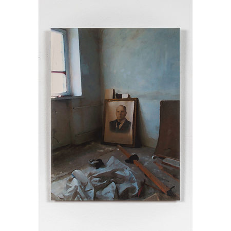 Carlos Garaicoa: From The Series Sunday Photographer (Ukraine II), 2013. Digital pigment print on gesso coated aluminium 36 x 27 cm Ed. 2/3 (3 + 2AP). Artwork Of Galería Elba Benítez