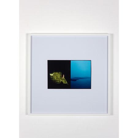 Luke Fowler: Cross Laminate (Galliano Island), 2009 C-Type Print 64,6 x 64,6 cm (unframed) 67,3 x 67,3 x 3,3 cm (framed). Artwork Of The Modern Institute