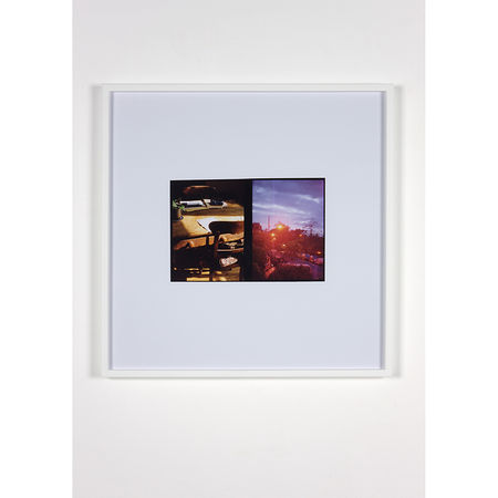 Luke Fowler: Sodium - Morning Light, 2010 C-Type Print 64,6 x 64,6 cm (unframed) 67,3 x 67,3 x 3,3 cm (framed). Artwork Of The Modern Institute