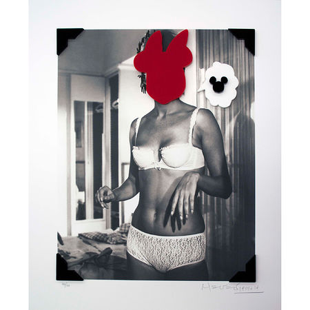 Nelson Leirner: Cada cosa en su sitio 6, 2013 Mixed media 60 x 50 cm Edition 40. Artwork Of Polígrafa Obra Gráfica, S.L.