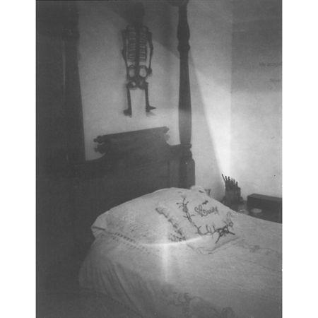 Patti Smith Frida Kahlo's Bed, Casa Azul, Coyoacán, 2012 Gelatin silver print 25.40 x 20.32 cm. Artwork Of Robert Miller Gallery