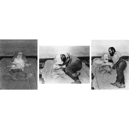 Paulo Bruscky: O eu comigo, 1978 Photograph Each: 40 x 60 cm. Artwork Of Galeria Nara Roesler