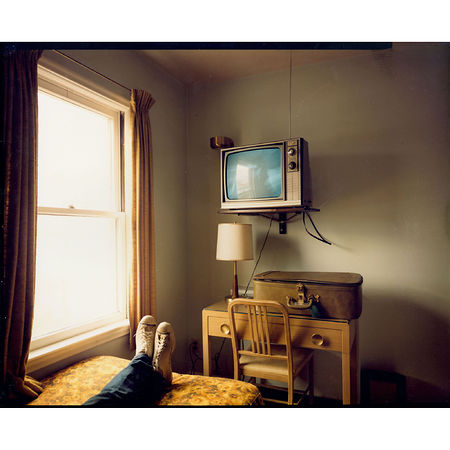 Stephen Shore Room 125, West Bank Motel, Idaho Falls, Idaho, July 18, 1973 9 x 11 3/4 inches. Artwork Of Edwynn Houk Gallery