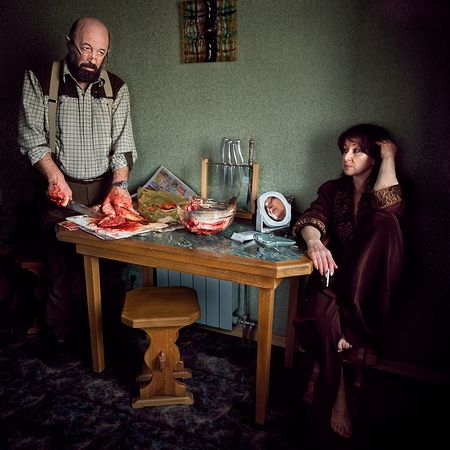 "Alexander & Tatiana, from the series ""Silent Dialogs"" © Viktoria Sorochinski"