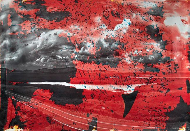 Matthew Brandt, Grays Lake, ID 7 (2013, Matthew Brandt