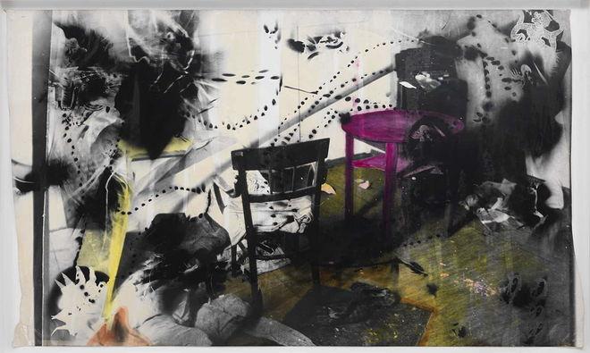 Интерьер (1984), Sigmar Polke