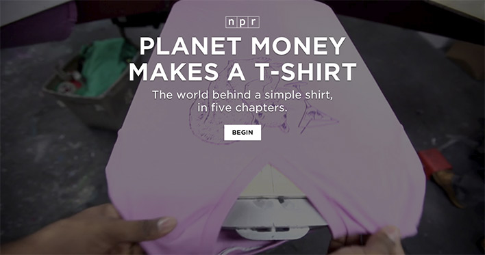 Planet money makes a t-shirt, продюсер Alex Blumberg