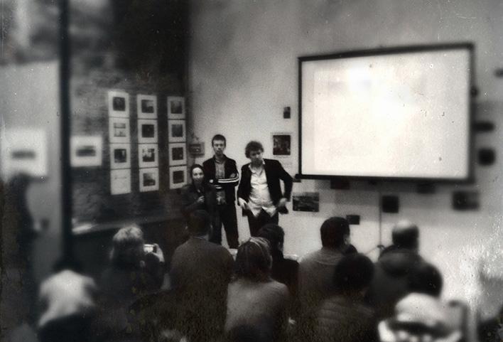 Творческая встреча с Робом Хорнстрой. 10 марта 2013. Фото: А.Б.