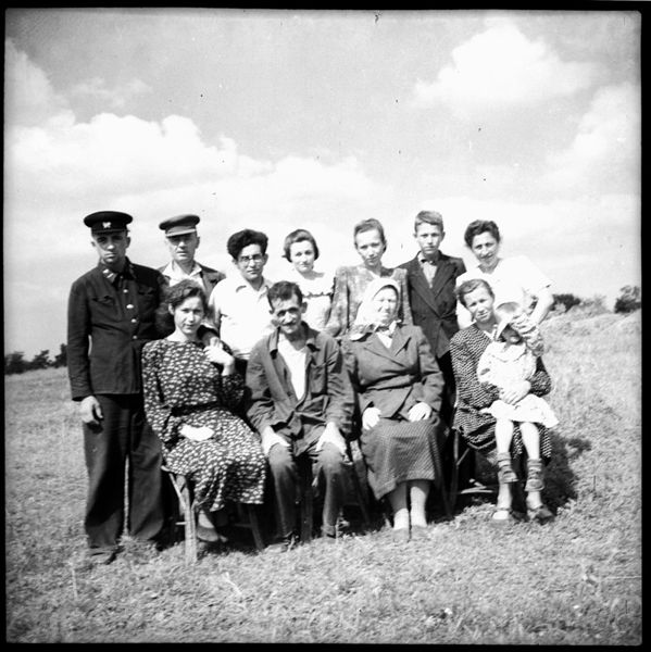 ©Марлен Матус (1939–2014). «Украина, Полтавская область, село Старый Орлик.1951»