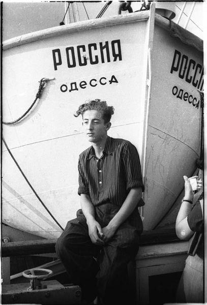 ©Марлен Матус (1939–2014). «Украина, Ялта. 1954»