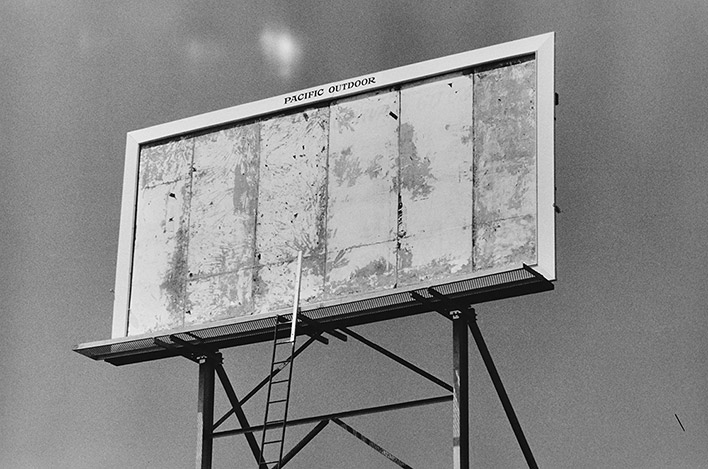 © Dennis Hopper. Billboard Los Angeles, 1964. Заглавная фотография Paris Photo Los Angeles 2014
