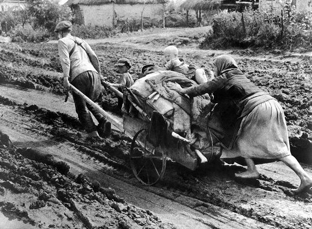 Яков Халип. В горькие дни отступления. Днепропетровщина. 1941