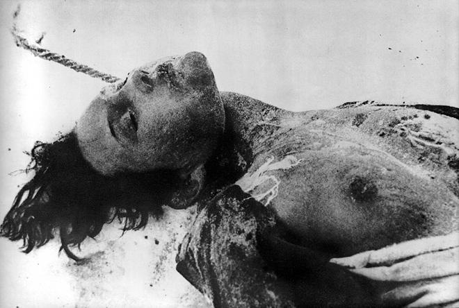 Сергей Струнников. Казненная немцами Зоя Космодемьянская. 1941