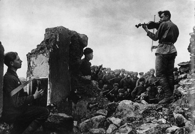 Яков Халип. Ноктюрн. 1942