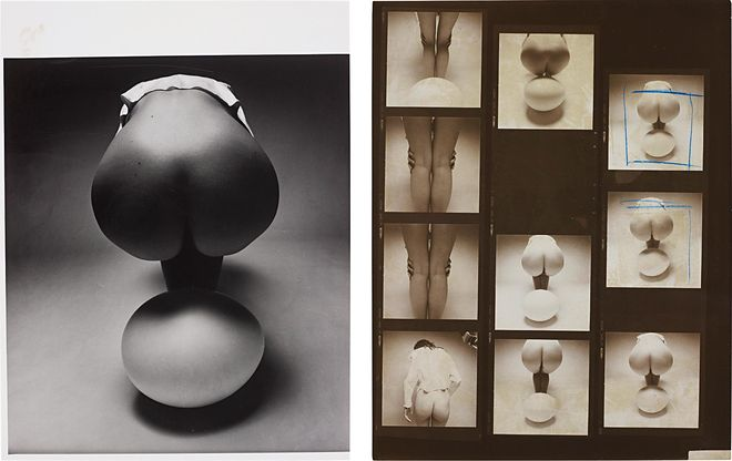 Phillips, © Guy Bourdin, Untitled nude and egg, 1971