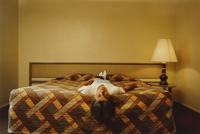 © Philip-Lorca diCorcia. Roy, 'in his 20s', Los Angeles, California, $50. Из серии Hustlers