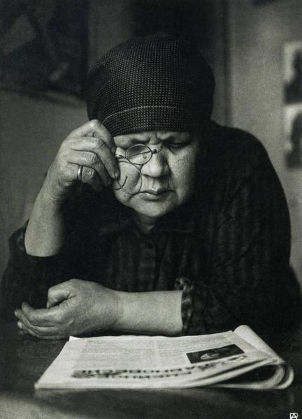 Мать. Александр Родченко, 1924