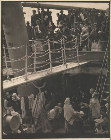 Alfred Stieglitz. The Steerage, 1907. The Metropolitan Museum of Art, New York