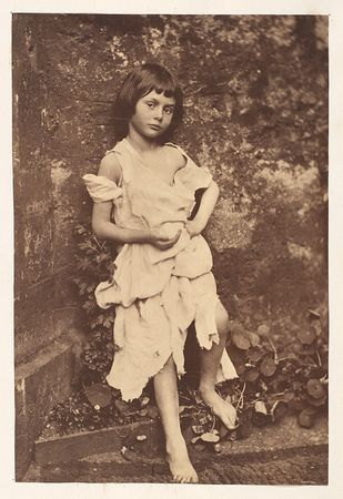 Lewis Carroll. Alice Liddell as The Beggar Maid, 1858. The Metropolitan Museum of Art, New York