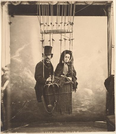 Nadar. Nadar with His Wife, Ernestine, in a Balloon, 1865. The Metropolitan Museum of Art, New York