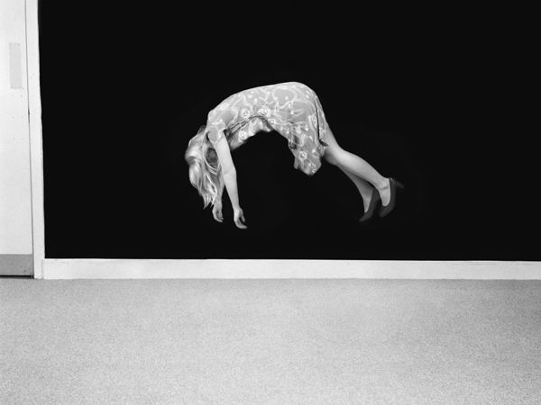 © Clare Strand. Aerial Suspension, from the Conjurations series, 2009