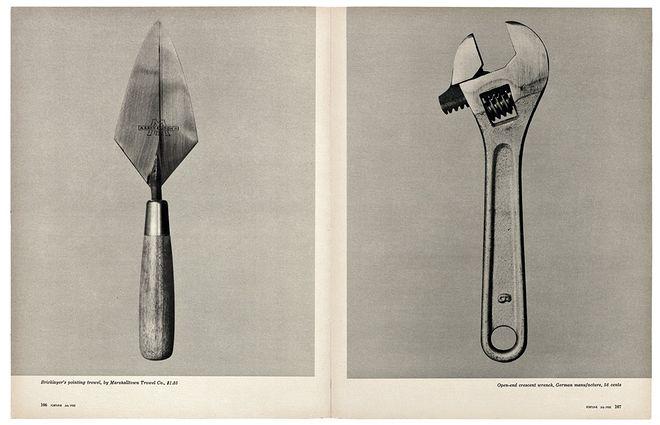 © Walker Evans and The Metropolitan Museum of Art. Beauties of the Common Tool, Fortune