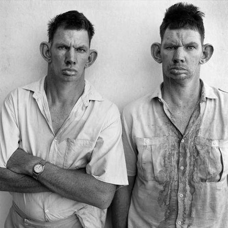 © Roger Ballen, Dresie & Casie, twins, 1993