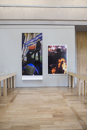 Из проекта Бориса Михайлова «Театр военных действий. Второй акт»
