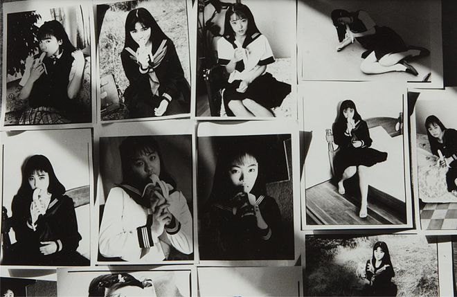 101 Works for Robert Frank (Private Diary) © Nobuyoshi Araki, courtesy of Anton Kern Gallery. Showing as part of the Collection Arthur Walter