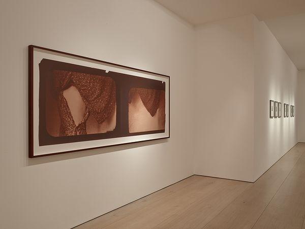 Фрагмент выставки Франчески Вудман в галерее Victoria Miro Mayfair