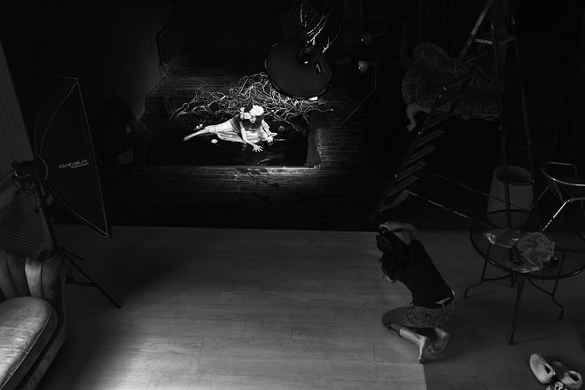 """Хижнякова Надежда, проект """"Шекспир"""", Уильям Шекспир - артист Краснодарского Академического Театра Драмы им. М.Горького Сергей Мочалов"""