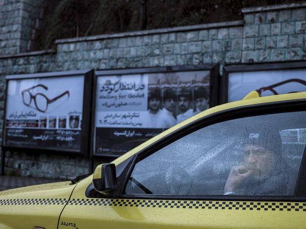 © Newsha Tavakolian. Taxi Driver