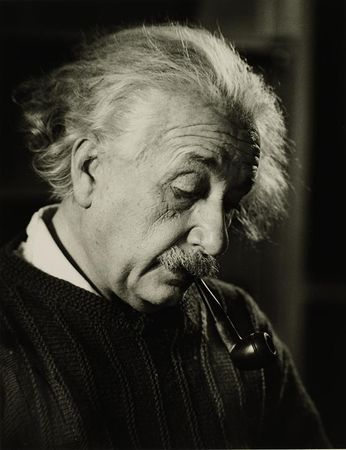 Einstein at Work, 1942
