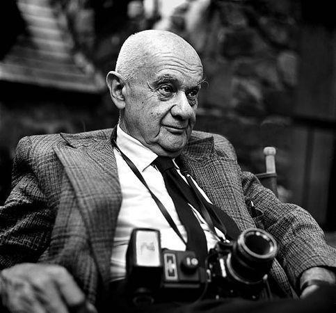 Roman Vishniac, 1977, fot. Andrew A. Skolnick
