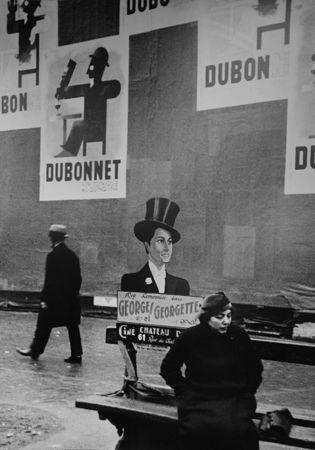 Andre Kertesz, Sur les boulevards, 1934, preview