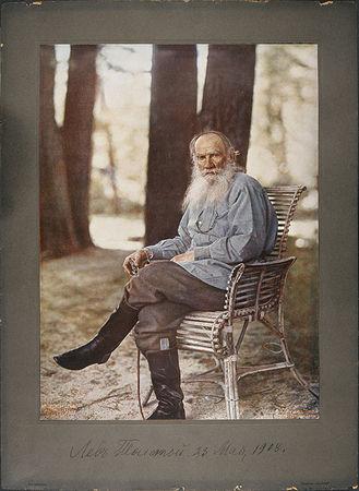 С. Прокудин-Горский. Портрет Л.Н.Толстого. 1908, хромолитография, preview