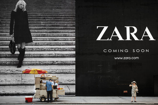 Натан Двир, Израиль. Zara No1. Из серии &#171;Coming Soon&#187;, 2008 <br /> Выставка &#171;Coming Soon&#187; / &#171;OZ Молл&#187;, ул. Крылатая, 2, Краснодар