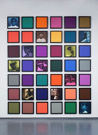 ©Carrie Mae Weems. Из серии Coloured People Grid, Untitled, 2009-2010