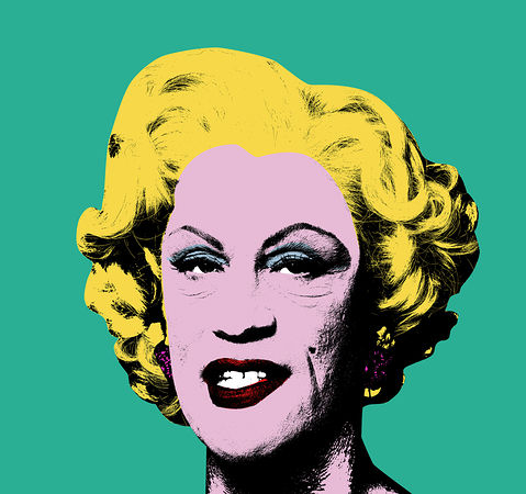 © Sandro Miller. Andy Warhol, Green Marilyn (1962), 2014