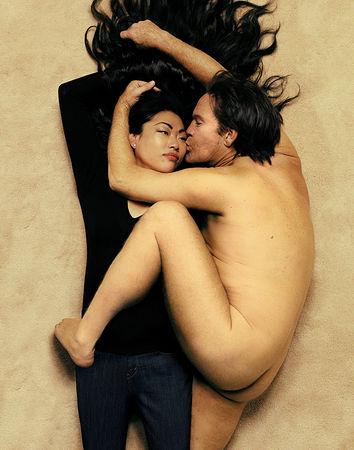 © Sandro Miller. Annie Leibovitz, John Lennon and Yoko Ono (1980), 2014