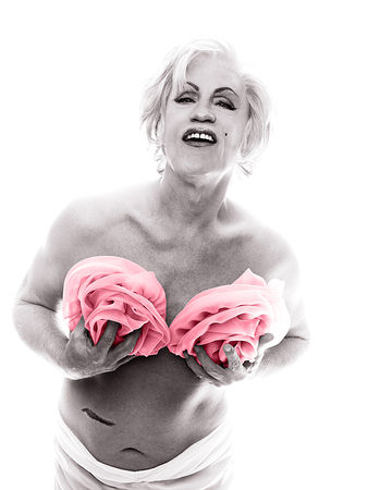 © Sandro Miller. Bert Stern, Marilyn in Pink Roses (from The Last Session, 1962), 2014