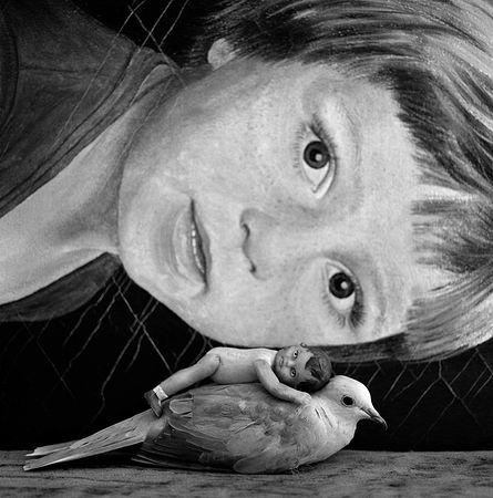 Mirrored, 2012 © Roger Ballen, Galerie Karsten Greve