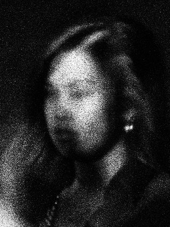 No.731. Candid portrait of a woman on a street corner. Adelaide. Australia, 2013 © Trent Parke, Stills Gallery